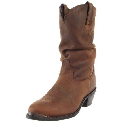 """Durango Women's Slouch 11"""" Western Boot - designer shoes, handbags, jewelry, watches, and fashion accessories 