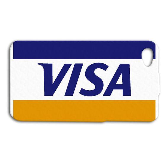 Visa Credit Card Cute Custom Case For Iphone By Norcaluniquecases 16 99 Visa Card Visa Visa Credit Card