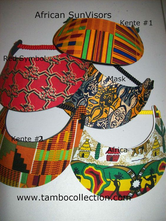 African Sun Visors/Flexible Light weight by tambocollection