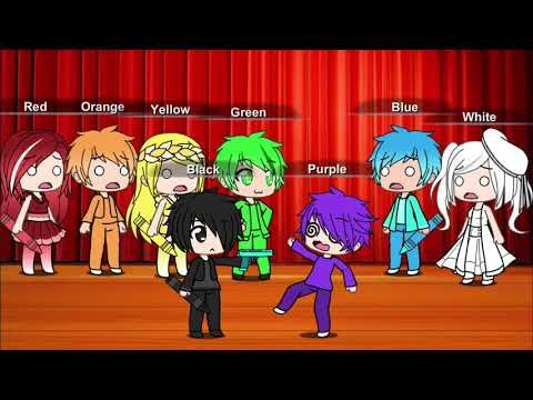 The Crayon Song Gets Ruined Gachaverse Youtube Banana Song Crazy Kids Songs