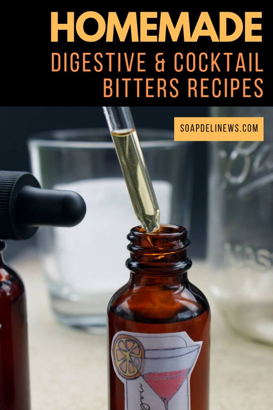 How to Make Homemade Cocktail Bitters for Cocktails & Digestive Support