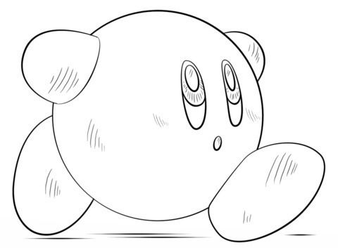 Kirby Para Colorear In 2020 Coloring Pages Drawing Tutorial Free Coloring Pages
