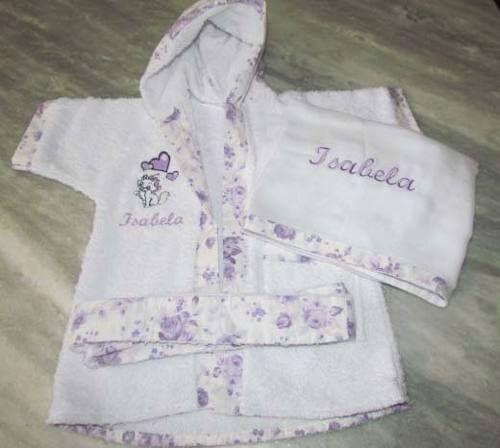 Roupão Infantil ~ Roup u00e3o De Banho Infantil para Bebe e Crianças de 0,2,4,5,6