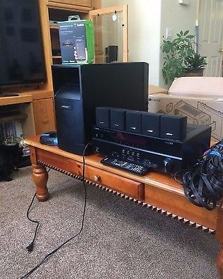bose 6 5 speakers. nice bose acoustimass 6 series v home theater system - 5.1 speakers yamaha receiver for sale check more at http://shipperscentral.com/wp/produc\u2026 5 u