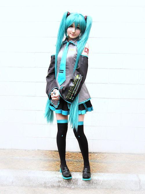 Vocaloid Hatsune Miku Cosplay