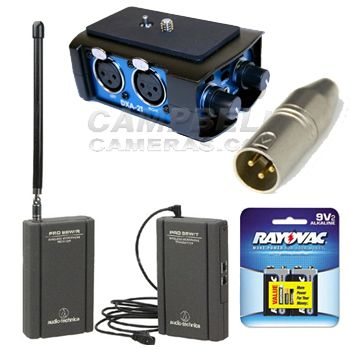Mini Plug Wireless Audio Package - Campbell Cameras | New Products ...