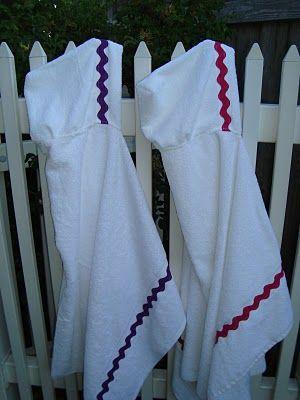 Hoody towels