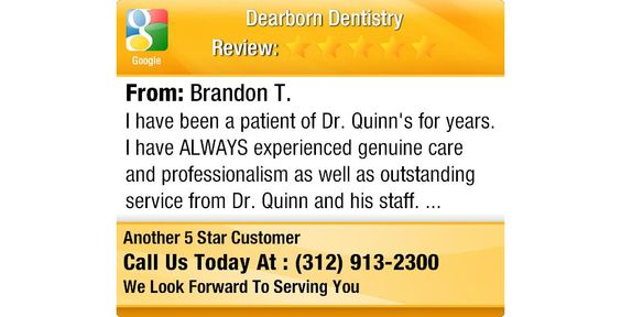 I have been a patient of Dr. Quinn's for years. I have ALWAYS experienced genuine care and...