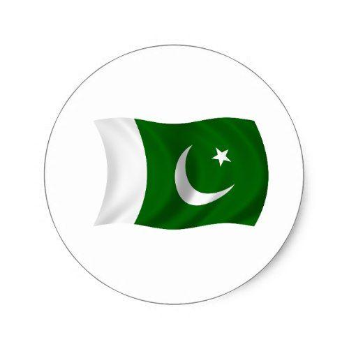 Flag Of Pakistan Classic Round Sticker Zazzle Com In 2021 Pakistan Flag Pakistan Flag Wallpaper Pakistan