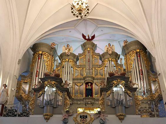 Орган в Кафедральном соборе. Фото: Evgenia Shveda