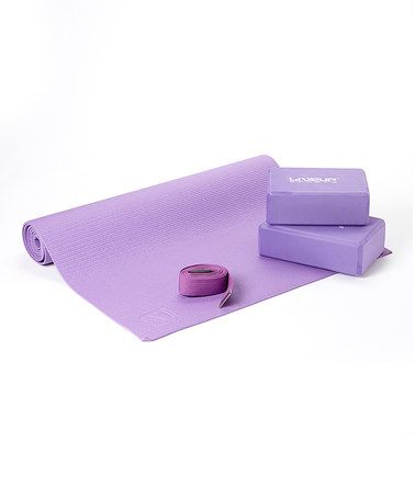 This Purple Three-In-One Yoga Set is perfect! #zulilyfinds