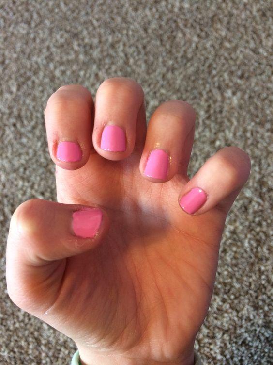 gel nails from Sally Hansen