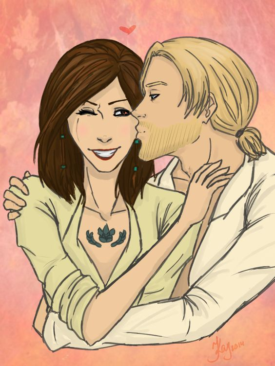 Kiddway my favorite ship in Assassins Creed. Edward Kenway and Mary Read