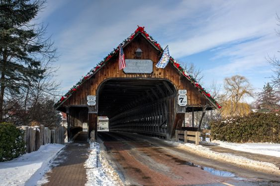 You Ll Want To Cross These 13 Amazing Bridges In Michigan Covered Bridges Old Bridges Michigan Road Trip