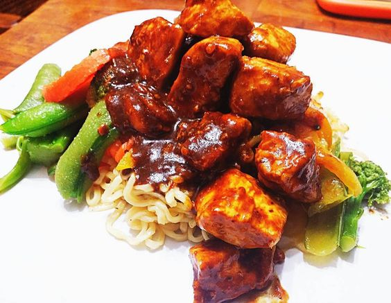 Low Carb Sweet ~n~ Spicy Chicken