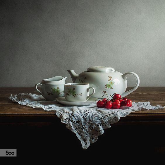 Cherries by Justyna Karczewska on 500px
