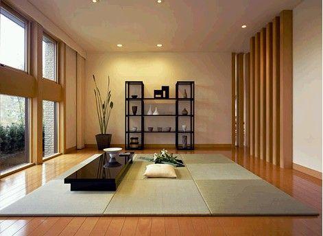 畳の場合 アジアンコーディネート例