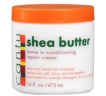 The top 10 Curly hair products under $10--Cantu Shea Butter Leave-in Conditioning Repair Cream