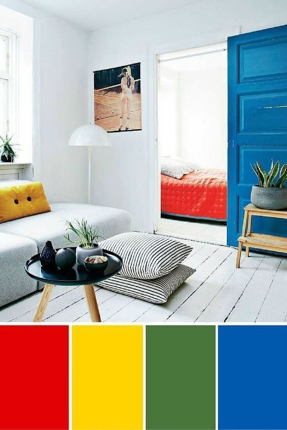 Color Schemes For Interior Design And Decoration Look For Inspiration Design Tips Col In 2020 Red Interior Design Interior Design Color Schemes Blue Interior Design #red #and #yellow #living #room