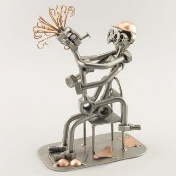 Nuts and Bolts Sculpture