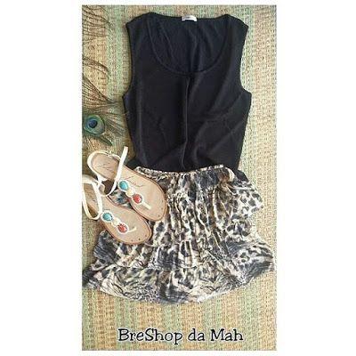 BreShop da Mah: Look de Brechó (3 peças) por R$50 + FRETE