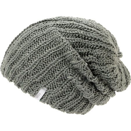 Instantly add comfort and warmth with the soft Coal girls Thrift grey knit beanie. Grab a stylish new beanie that works with any outfit with a thick knit all-acrylic construction, grey colorway, and a white Coal brand tag embroidered on the hem for added style.