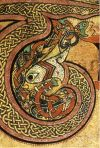 From the Book of Kells- Ireland approx. 800 A.D.