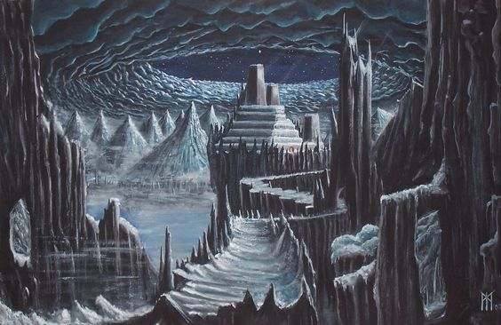 Jotunheim is the world of the Giants.