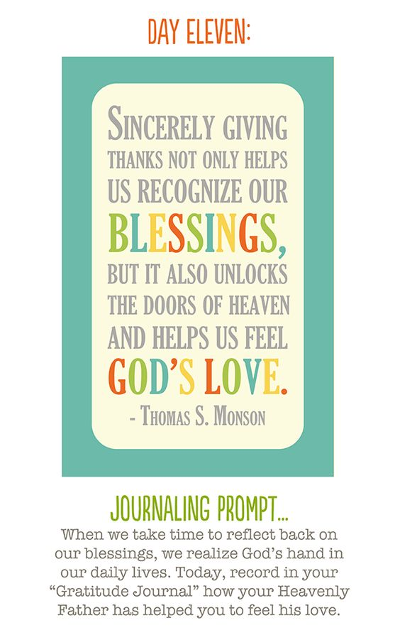 """i love the idea of a """"gratitude journal"""".  this would be a good quote to put in the front."""
