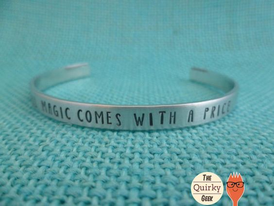 All magic comes with a price Hey, I found this really awesome Etsy listing at https://www.etsy.com/listing/210990080/personalized-hand-stamped-jewelry-all