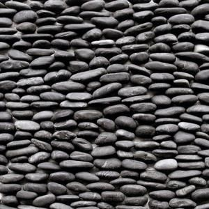 Solistone Standing Pebbles Cascade-Natural Stone Rock Wall Tile