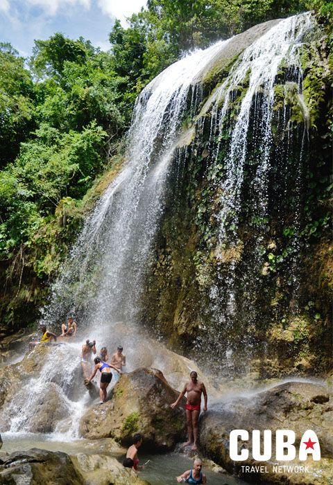 Waterfalls of Soroa, Pinar del Rio, Cuba