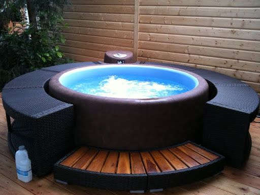 softub Softub Favorites Pinterest Garten, Spa and Hot tubs - whirlpool im garten