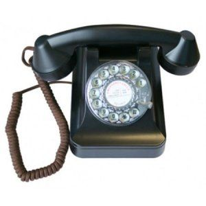 RETRO 1950'S STYLE DESK TOP TELEPHONE (giftedgadgets.co.uk) £46.30