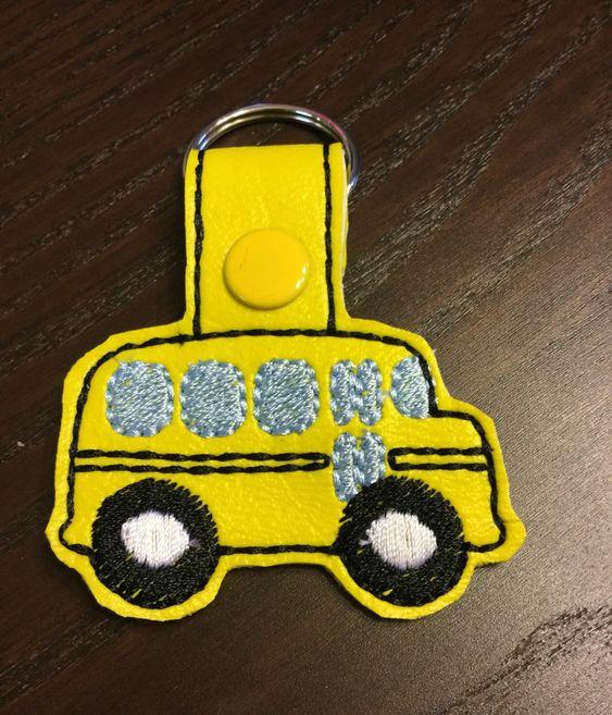 School Bus Key Chain Ready To Ship School Bus Keychain Bus Etsy Bus Driver Appreciation Bus Driver Gifts School Bus