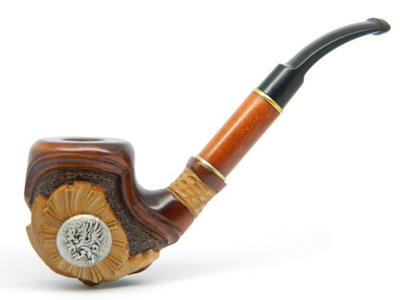 Tobacco Smoking pipe  GRYPHON  Pear wood Great by ArtyStore