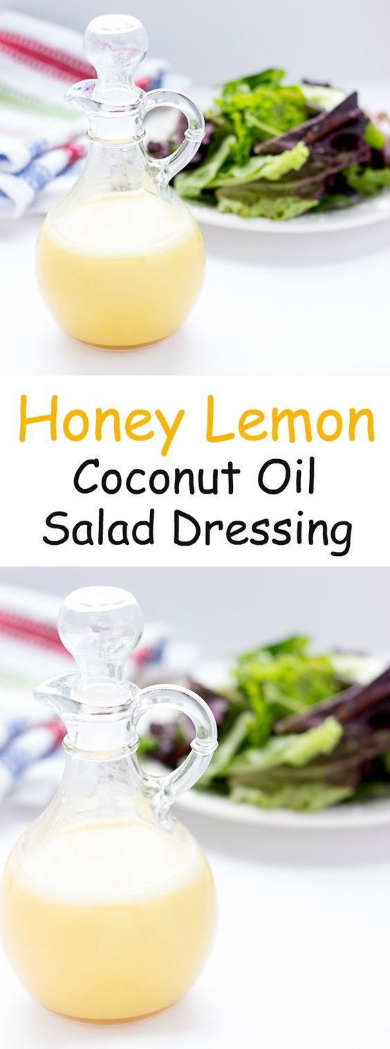 lemon coconut honey lemon lemon honey hemp vinaigrette oil coconut oil ...