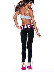 Pink Yoga Capris