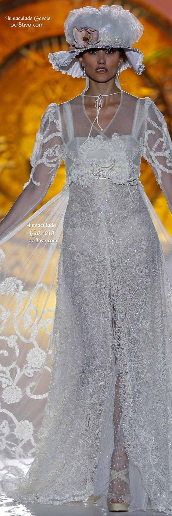 Inmaculada Garcia: Barcelona Bridal Week Spring 2015