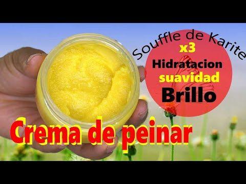 Crema De Peinar Casera Para El Cabello Afro Seco Soufflé De Karite Para Hidratar El Pelo Rizado Youtube In 2021 Sugar Scrub Fruit Beauty