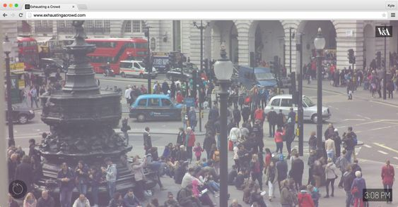 Crowdsourced annotation of twelve hours of footage, shot at Piccadilly Circus, London.