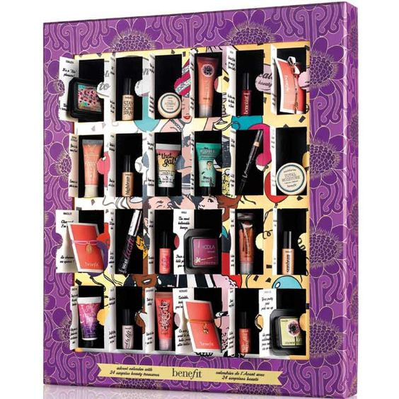 Omg i seriously want this!!!!! Benefit launch THE most amazing beauty advent calendar!!