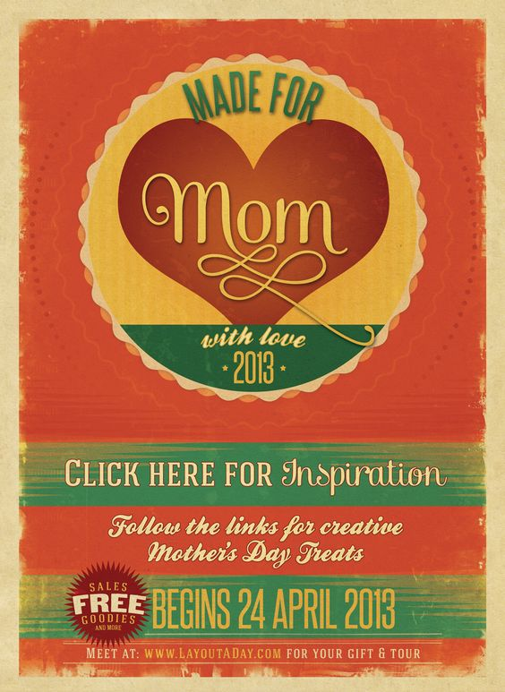 Made For Moms: Ideas for Mother's Day.  Includes freebies, coupons and more! http://scrapbookwonderland.com/2013/04/24/mothers-day-blog-hop-made-for-moms/