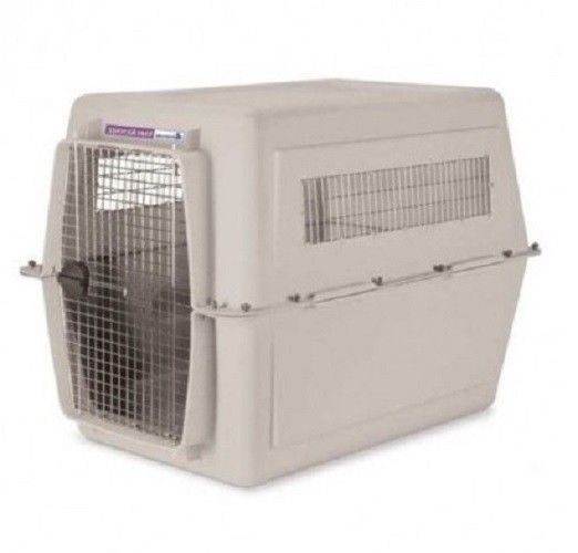 Pet kennels giant dogs and dog crates on pinterest for Xl dog travel crate