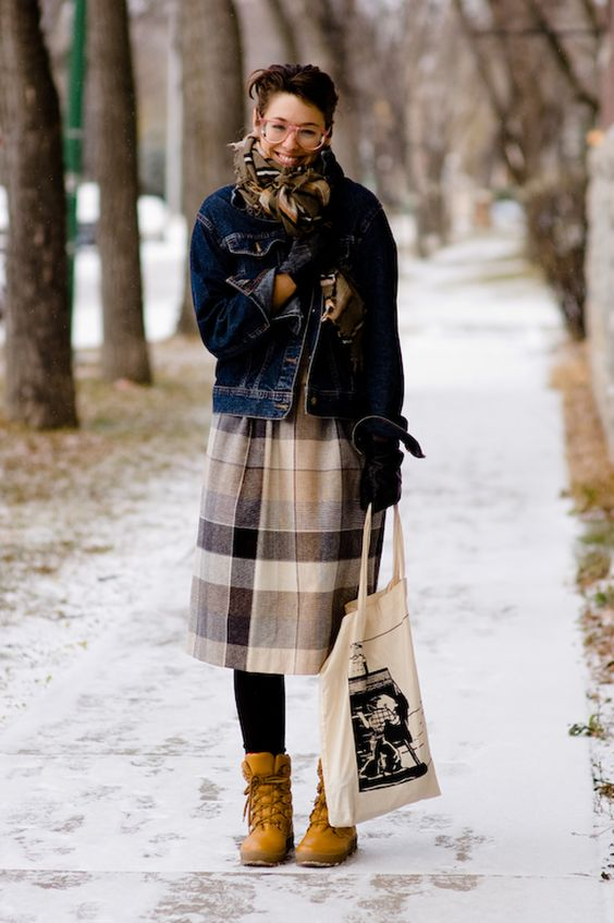 Canada Cold Weather And Tights On Pinterest