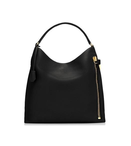 Grain Leather Alix Hobo Leather Designer Shoulder Bags Hobo