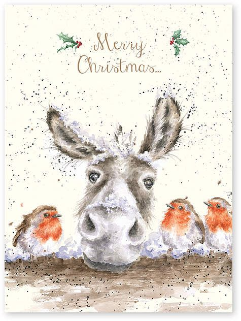 Wrendale Designs /'Christmas Cracker/' Christmas card