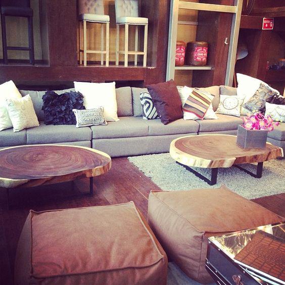 Rounded Coffee Tables  #organicfurniture #makedesign #suarwood #design #interiordesign #dinnertable  www.makedesign.biz