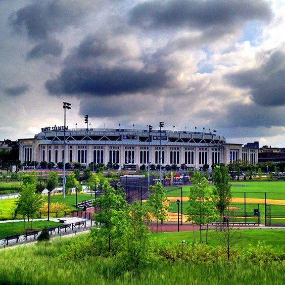 The Home Office of Baseball #YankeeStadium - @jeffreynyc