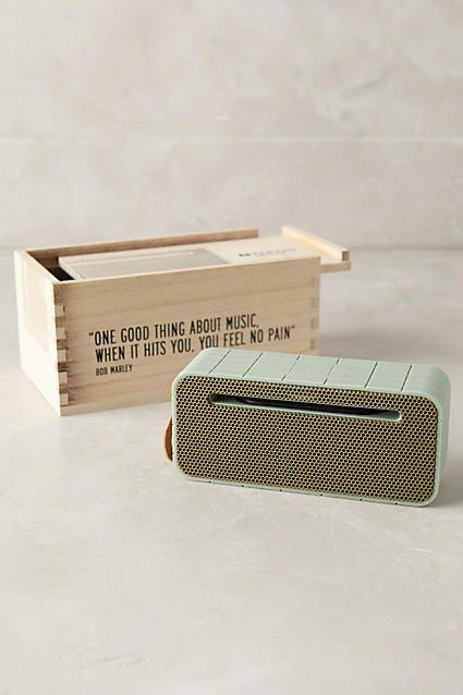 aGroove Wireless Speaker - anthropologie.com